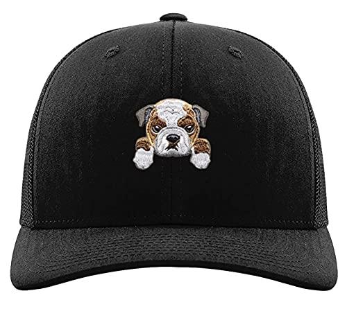 Bulldog Hat Mesh Trucker Comfort Fit Unisex