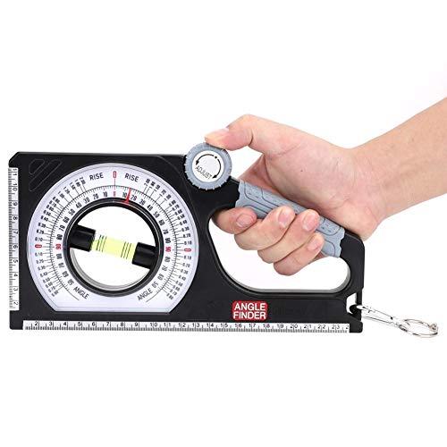 Multifunktions-Neigungsmessgerät zur Messung des 130 ° -Winkels mit Karabinerhaken
