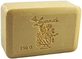 La Lavande Honey Almond Soap, 250g wrapped bar, Imported from France by La Lavande