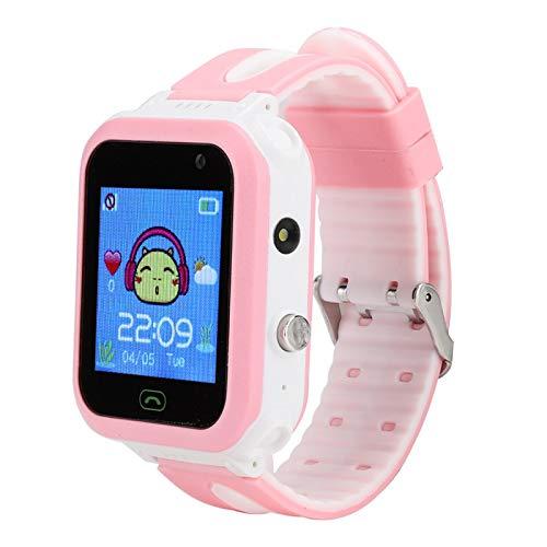 Tomanbery Pantalla táctil Pulsera Inteligente Reloj Despertador Reloj Inteligente Monitor de sueño a Prueba de Agua Altavoz Manos Libres Podómetro Intercomunicador de Voz para niños para niñas