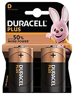 Duracell Plus Power Pack de 2 Piles Alcalines type D (B004W7GYA2) | Amazon price tracker / tracking, Amazon price history charts, Amazon price watches, Amazon price drop alerts
