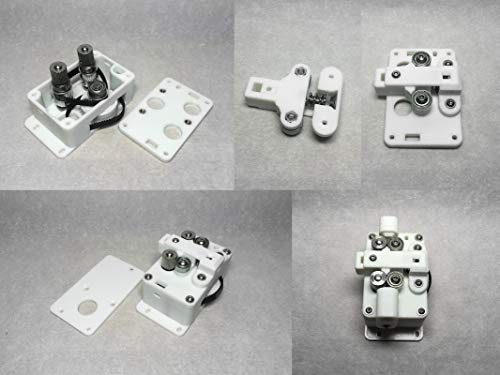 XIAOMINDIAN Dual Wheel PLA Printed B2D Extruder Newest Feeder For DIY UM2 Ultimaker 2 Extended+ 3d Printer Ratio 1:3 3D Printer parts Printer Parts (Size : 2.85 Type With Nuts)