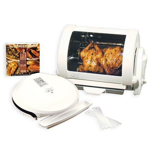 George Foreman GR36-59A Grill and Rotisserie Combo
