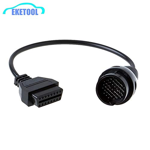 New 20pcs/Lot Express Fast For Benz 38Pin to 16Pin OBD OBD2 Cable Connector Diagnostic Interface MB ...