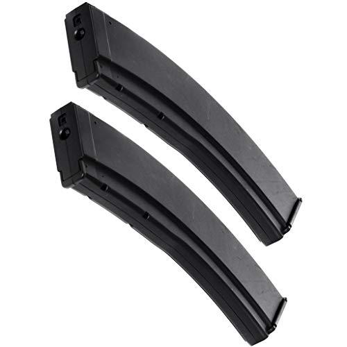 Airsoft Spare Parts CYMA 2pcs RPK74 200rd Mag Mid-Cap Magazine Long Type for AK Series AEG Black