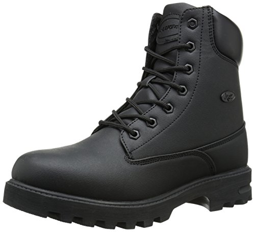 Lugz Men's Empire Hi Wr Winter Boot, Black Scuff, 10 D US