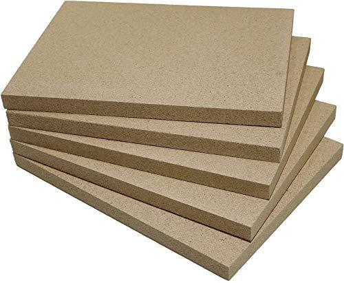 Vermiculite-Platte (5, 500 x 300 x 20 mm)