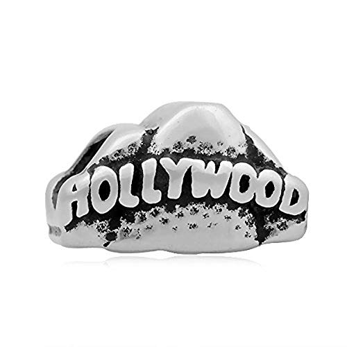 Andante de Stones Plata Bead HOLLYWOOD Element bola para European Beads + Traumhandel