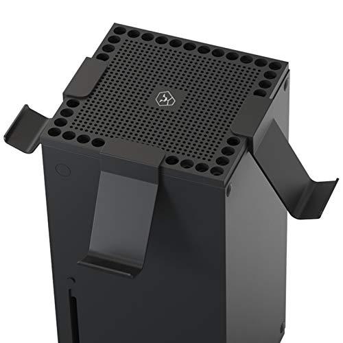 Ishine Placa ventilada para cubierta de polvo de disipación de calor con soporte de controlador para la parte superior de la consola para Xbox Series S X