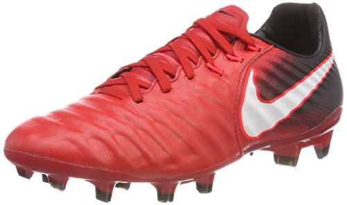 Nike Youth Tiempo Legend VII FG Cleats [University RED] (4Y)
