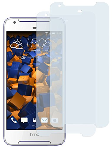 mumbi Schutzfolie kompatibel mit HTC Desire 628 Folie klar, Bildschirmschutzfolie (2X)