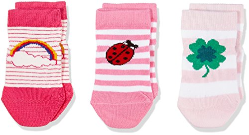 Tommy Hilfiger Unisex TH Baby Lucky Charms GIFTBOX 3P Socken, Rosa (Pink Lady 422), 19-22 (3erPack)