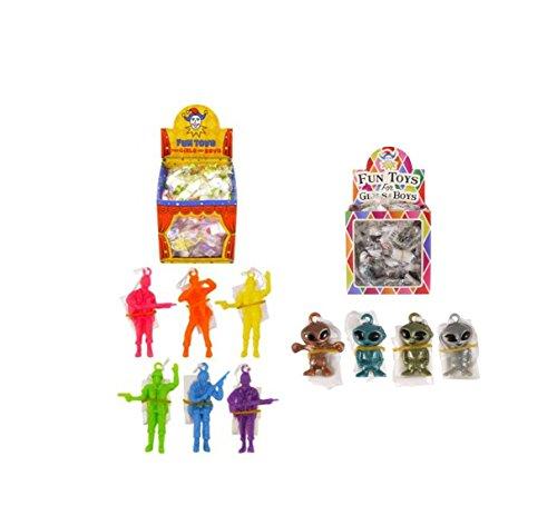 geo-versand Mädchen Jungen Spielzeug Adventskalender Mitgebsel mitbringsel Dinosaurier Krone Perlen bastelnKindergeburtstag (Fallschirmspringer,)