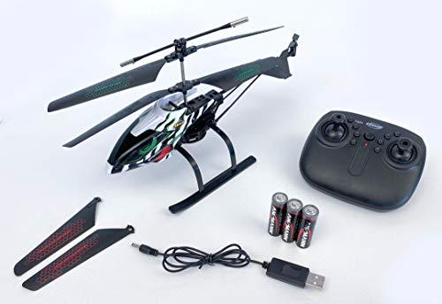 Carson 500507149 Easy Tyrann 290 Waterbeast 2.4G RTR, RC Hubschrauber, Ferngesteuerter Helikopter, inkl. Batterien und Fernsteuerung, 100% flugfertig, einfach zu fliegen