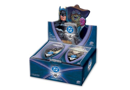 DC VS System Trading Card Game Origins Booster Box 24 Packs
