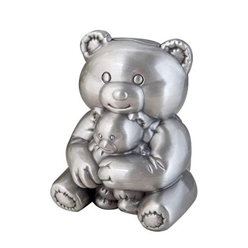 JJZXT Personalidad Creativa Metal a Prueba de caídas Hucha Hucha Dispositivo de estaño Hucha Bank Moneda Piggy Bank