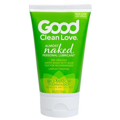 "Good Clean Love Bio-Gleitgel\""Almost Naked\"", 1er Pack (1 x 120 g)"