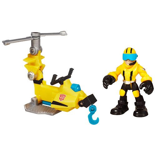 Transformers Playskool Heroes Axel Frazier und Microcopter