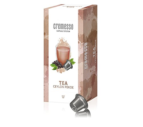 Cremesso Delizio Kapseln Tea Ceylon Pekoe 6x 16 Kaffee Kapseln 6er Pack