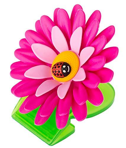 Vigar Flower Power Pinzas con Iman para Cocina