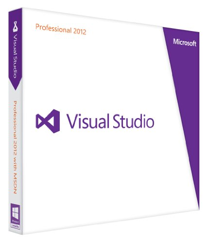 Microsoft Visual Studio Professional 2012 - Full Package Product