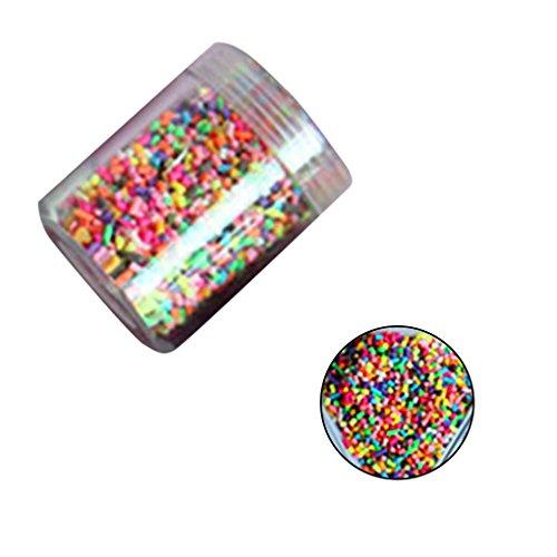 Bobury Cake Decoración Simulación Colorido Chocolate Sprinkles Sugar Needle DIY Ice Cream Decoración