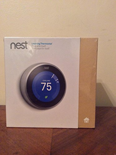 Nest Learning Thermostat, 3rd Generation by Nest