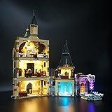 LODIY Kit de luz LED para Lego Harry Potter Hogwarts Torre de reloj 75948 - Juego de luces para Lego 75948 (solo luz, no incluye modelo Lego)