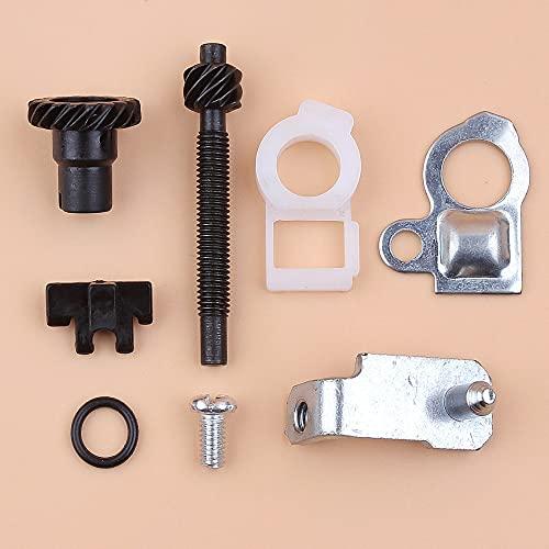 Kit de pernos de tornillo de ajuste del tensor de cadena para STIHL MS361 MS360 MS260 MS240 036026024 piezas de motosierra # 1127007 1003