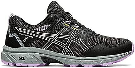ASICS Women's Gel-Venture 8 Running Shoe, 8.5, Black/Ivory