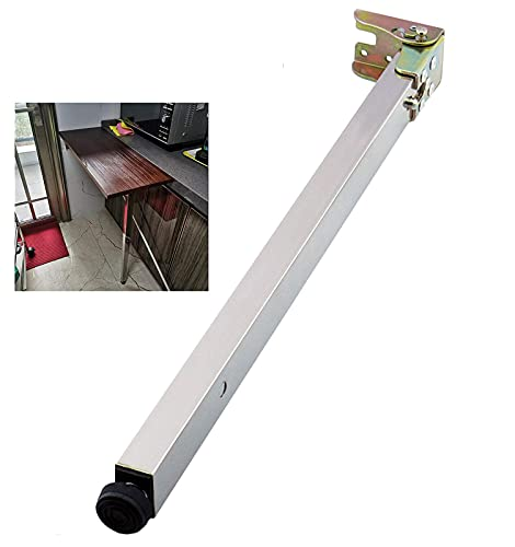 Patas de mesa de comedor plegables para pared, patas telescópicas, patas elevadoras de RV, pie de soporte de barra, 40 – 130 cm, 56 cm