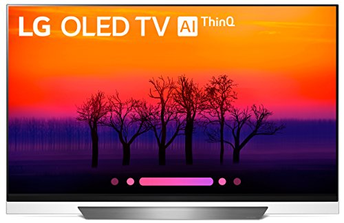 LG Electronics OLED55E8PUA 55-Inch 4K Ultra HD Smart OLED TV (2018 Model)