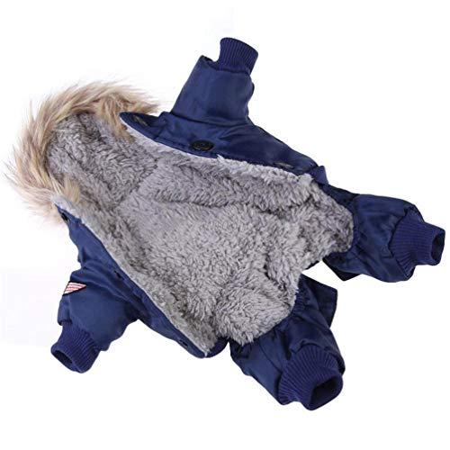 Feidaeu Warme Hundebekleidung Camouflage Winter Wasserdichte Hund Jacke Mode für Chihuahua Kleine Gro?e Hunde Mantel