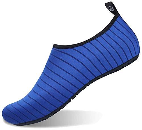 Zapatos de Agua Mujer Zapatillas Ligeros de Secado Rápido para Swim Beach Surf Yoga Aqua Shoes Escarpines Hombres Mujer Niños