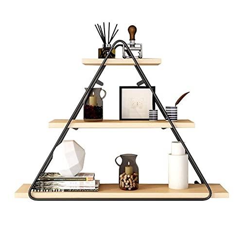 DGDF Estante colgante de pared Estantes nórdicos creativos para el hogar, sala de estar, fondo de pared, estante de oficina, estante decorativo para restaurante