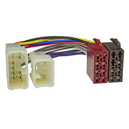 Baseline connect câble adaptateur d'autoradio pour tOYOTA, dAIHATSU en fiche mâle iSO-parleur (électricité)