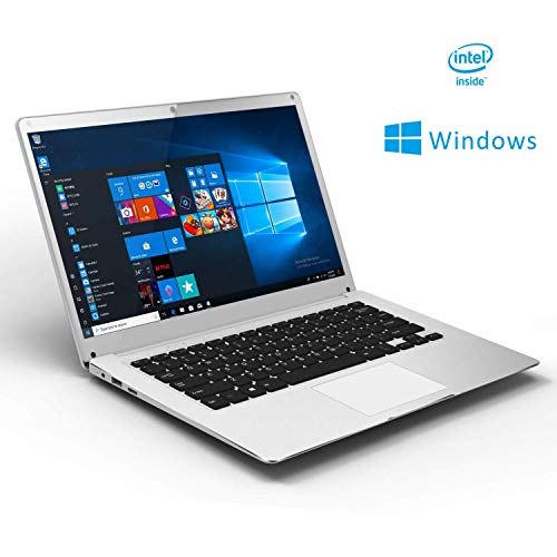 "Ordenador Portátil Windows 10 Laptop 14"" Winnovo V146 Notebook Intel Atom Quad-Core 4GB de RAM 32GB de eMMC FHD 1920x1080 IPS con Teclado QWERTY(Plata)"
