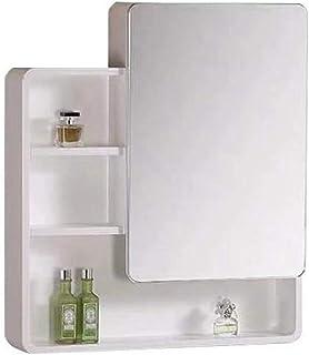 Armoires de rangement pour produits ménagers Armoire de toilette murale avec portes simples et étagère réglable Armoire à ...