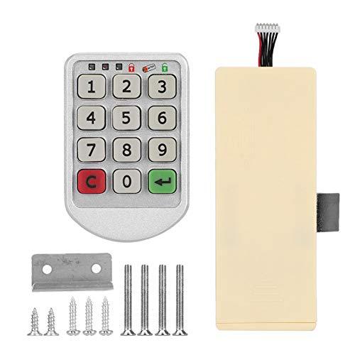 Cerradura de Seguridad Digital Cerradura de código de aleación de Zinc Cerradura de código electrónico Cerradura electrónica Durable y Seguro de Usar Seguridad para el hogar para la Oficina