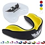 Protège-dents UK Warrior Eraser, idéal pour les sports de contact, les arts martiaux, le karaté, le rugby, la boxe,...