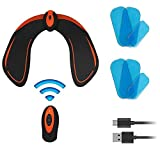KICOFIT EMS Hips Trainer, Buttocks/Hips Trainer with 6 Gel Pads, Butt Lifting Buttocks Enhancement Device, Smart Fitness Training Hips Shaping Equipment Muscle Toner