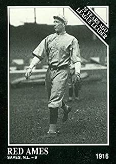 Red Ames Baseball Card (St. Louis Browns) 1991 Sporting News Conlon Collection #153