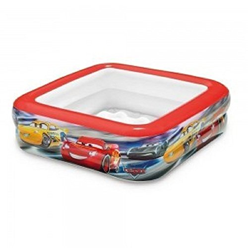Bavaria Home Style Collection Cars - Babypool / Baby Pool / ca. 85 x 85 x 23 cm - Babypool Baby Pool Planschbecken Kinderpool Pool Kinderplanschbecken Schwimmbecken Baby-Pool Planschbecken