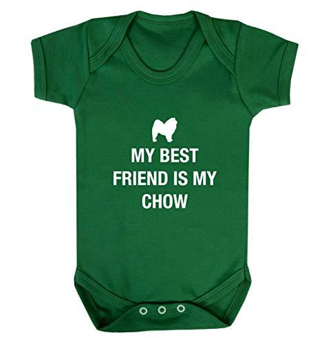 Flox Creative Gilet pour bébé Best Friend Chow - Vert - XS