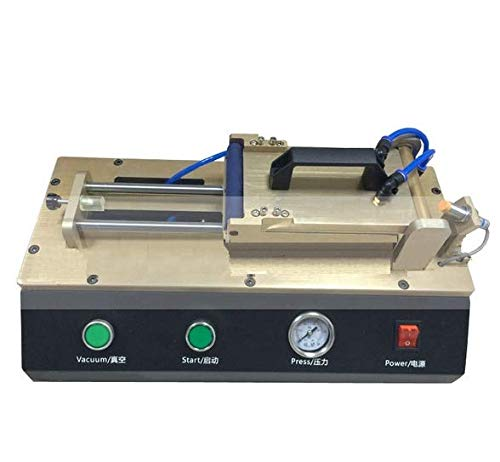 GOWE - Laminador universal OCA sin molde LCD Reacondicionamiento de la máquina de reparación para laminado OCA película polarizadora con compresor de aire