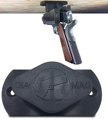 Gun Magnet 35 lb Rated | Adhesive Backing | Car Holster | Bedside Holster | Steering Wheel Gun...