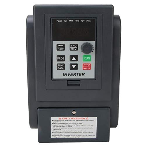 2.2KW 8A VFD, entrada monofásica 220V entrada/3 fases 380V salida variador inversor, convertidor de frecuencia convertidor VFD, para varios tipos de equipos de control automático