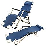 Sedie a sdraio resistenti e culle piatte, pieghevoli reclinabili per giardino, spiaggia, piscina,...
