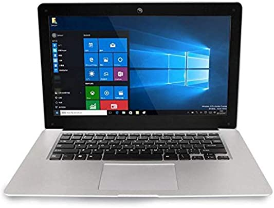 VCB 15 6 Zoll 32 GB Laptop HD-aktivierte Kamera WiFi Laptop Notebook Silber  EU
