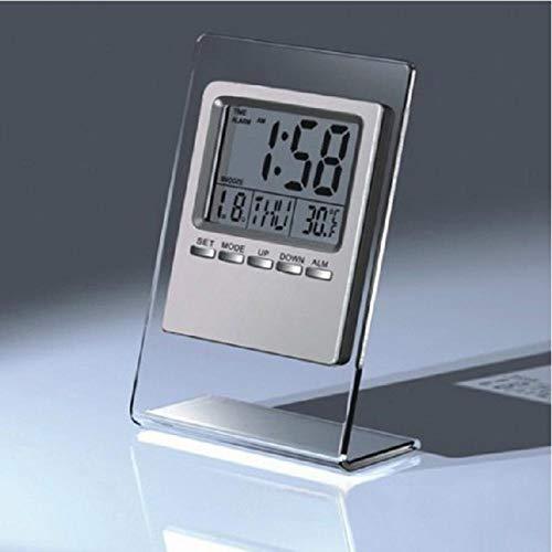 ZYZYY Home Grote LED Backlight Digitale Klokken Kalender Thermometer Hygrometer Snooze LCD Alarm Klok Desktop Alarm Klok